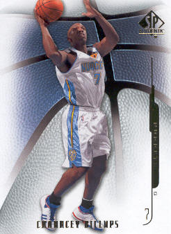 2008-09 SP Authentic #93 Chauncey Billups
