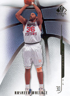 2008-09 SP Authentic #95 Rasheed Wallace