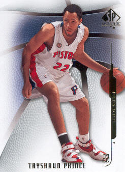 2008-09 SP Authentic #96 Tayshaun Prince