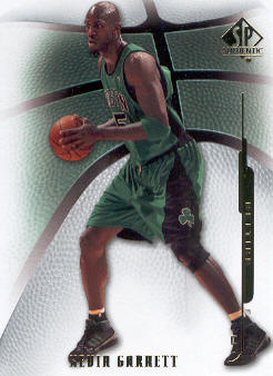 2008-09 SP Authentic #97 Kevin Garnett