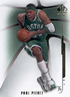 2008-09 SP Authentic #98 Paul Pierce