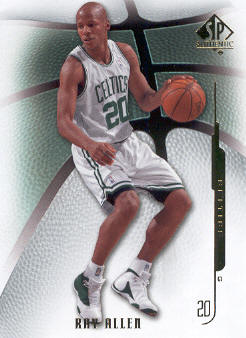 2008-09 SP Authentic #99 Ray Allen