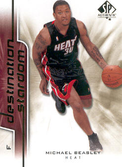 2008-09 SP Authentic Destination Stardom #DS2 Michael Beasley