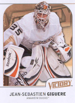 2009-10 Upper Deck Victory #3 Jean-Sebastien Giguere