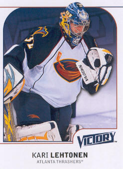 2009-10 Upper Deck Victory #8 Kari Lehtonen