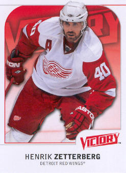2009-10 Upper Deck Victory #75 Henrik Zetterberg