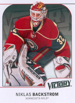2009-10 Upper Deck Victory #100 Niklas Backstrom