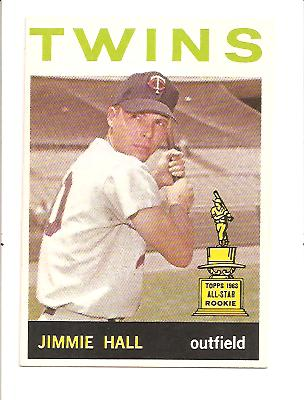 1964 Topps #73 Jimmie Hall RC