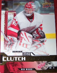 2007-08 Upper Deck Clutch Performers #CP4 Dominik Hasek