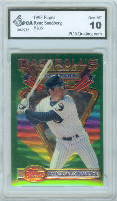 1993 Finest #105 Ryne Sandberg (Graded PCA Gem Mint 10)