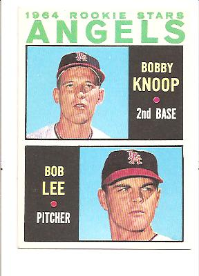 1964 Topps #502 Rookie Stars/Bobby Knoop RC/Bob Lee RC