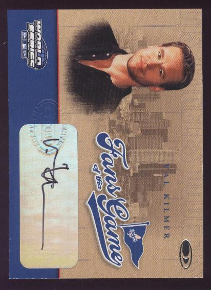 2004 Donruss World Series Fans of the Game Autographs #1 Val Kilmer
