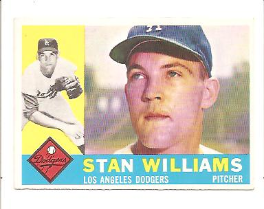 1960 Topps #278 Stan Williams