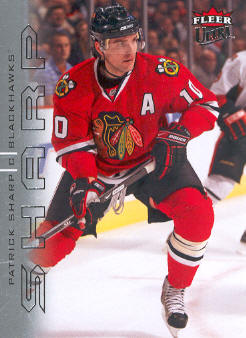 2009-10 Ultra #36 Patrick Sharp