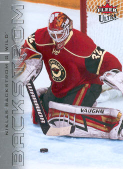 2009-10 Ultra #74 Niklas Backstrom