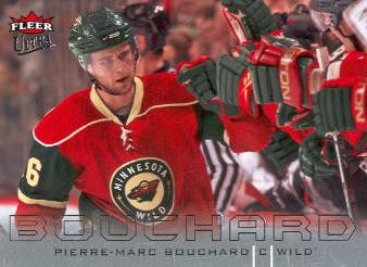 2009-10 Ultra #76 Pierre-Marc Bouchard