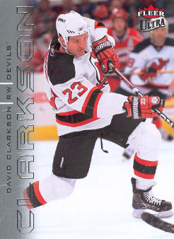 2009-10 Ultra #92 David Clarkson