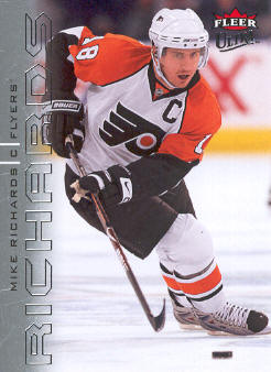 2009-10 Ultra #107 Mike Richards