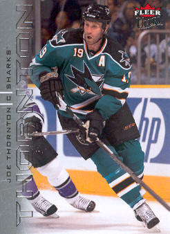 2009-10 Ultra #122 Joe Thornton