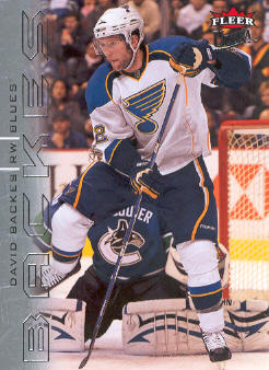 2009-10 Ultra #130 David Backes