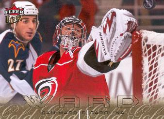 2009-10 Ultra Gold Medallion #28 Cam Ward