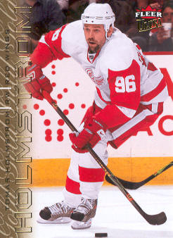 2009-10 Ultra Gold Medallion #188 Tomas Holmstrom