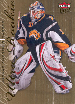 2009-10 Ultra Gold Medallion #221 Jhonas Enroth