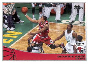 2009-10 Topps #33 Derrick Rose