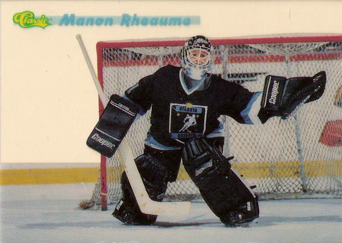 1993 Classic #MR1 M.Rheaume Acetate