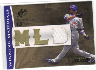 2008 SPx Winning Materials MLB 125 #DL Derrek Lee