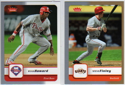 2006 Fleer Glossy Silver #268 Ryan Howard