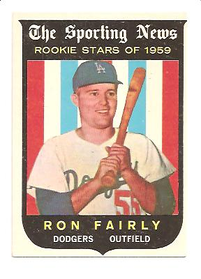 1959 Topps #125 Ron Fairly RS RC