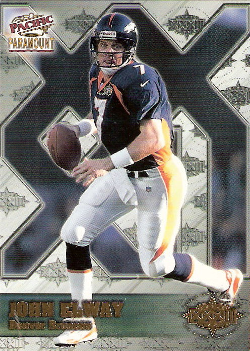 1998 Paramount Super Bowl XXXII #2 John Elway