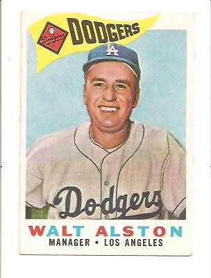 1960 Topps #212 Walter Alston MG