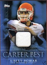 2009 Topps Career Best Jerseys #RB2 Rhett Bomar B