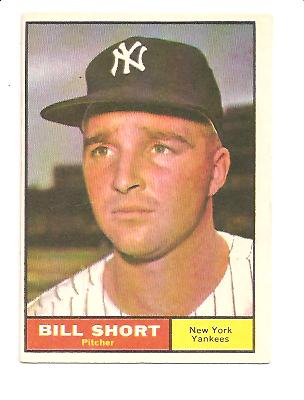1961 Topps #252 Bill Short