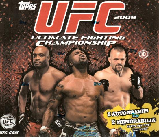 2009 Topps UFC Series 2 MMA Mixed Martial Arts Sports Trading Cards Hobby Box