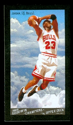 2009 Upper Deck Goodwin Champions Mini Black Border #114 Michael Jordan