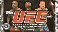1 SEALED PACK : 2009 Topps UFC Ultimate Fighting Championship (Round 2) MMA Sealed Hobby Pack (2 Autographs, 2 Memorabilia Cards, 16 Inserts & 16 Parallels Per Box)  