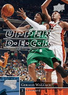 2009-10 Upper Deck #17 Gerald Wallace