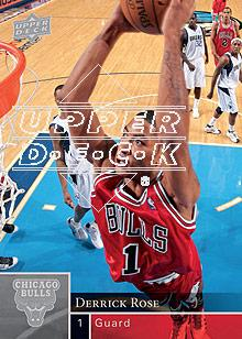 2009-10 Upper Deck #21 Derrick Rose