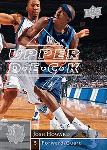 2009-10 Upper Deck #35 Josh Howard