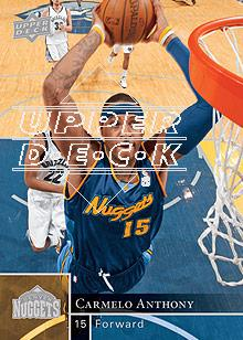 2009-10 Upper Deck #42 Carmelo Anthony