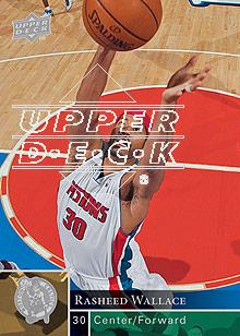 2009-10 Upper Deck #52 Rasheed Wallace