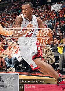 2009-10 Upper Deck #99 Daequan Cook