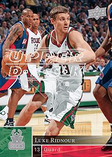 2009-10 Upper Deck #100 Luke Ridnour