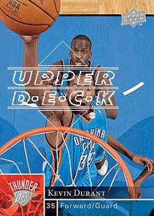 2009-10 Upper Deck #135 Kevin Durant front image