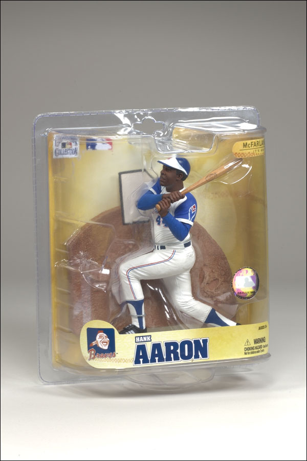2008 McFarlane Baseball Cooperstown Collection Series 5 #10 Hank Aaron