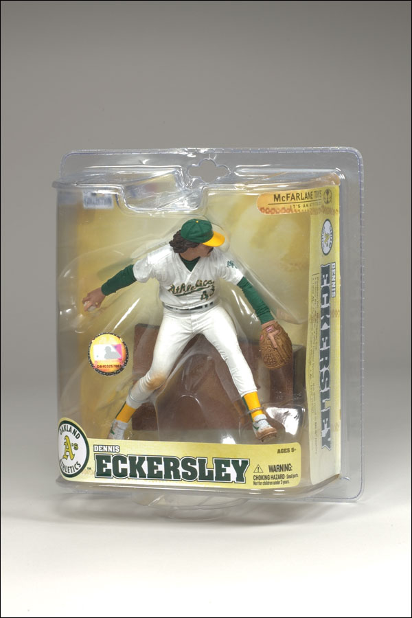 2008 McFarlane Baseball Cooperstown Collection Series 5 #20 Dennis Eckersley Athletics
