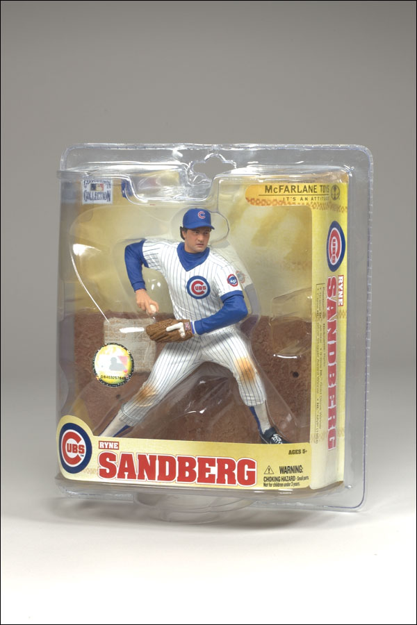 2008 McFarlane Baseball Cooperstown Collection Series 5 #50 Ryne Sandberg White